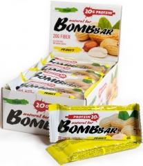 BomBBar Протеиновый батончик 60 грамм (Арахис)