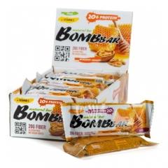 BomBBar Протеиновый батончик 60 грамм (Грецкий орех с мёдом)