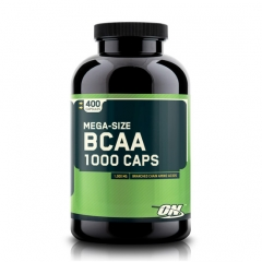 BCAA 1000mg 400 caps