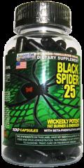 Black Spider 25 100caps