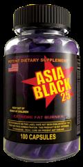Asia Black 25 100caps