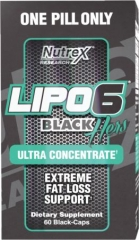 LIPO-6 Black Hers Ultra Concentrate 60caps